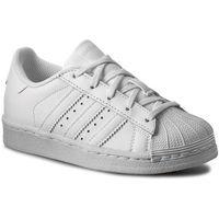 Buty sportowe dla dzieci, Buty adidas - Superstar Foundation C BA8380 Ftwwht/Ftwwht/Ftwwht
