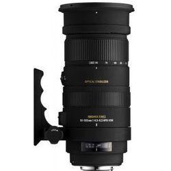 SIGMA 50-500 mm F4.5-6.3 DG OS HSM obiektyw mocowanie Sigma
