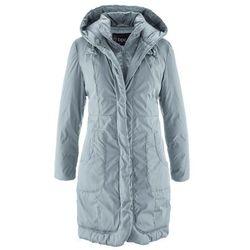 Płaszcz ocieplany bonprix srebrnoszary