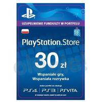 Klucze i karty przedpłacone, Sony PlayStation Network 30 zł [kod aktywacyjny]