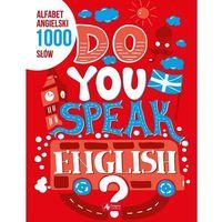 Książki do nauki języka, Alfabet angielski. 1000 słów (opr. miękka)