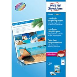 Papier fotograficzny Premium 200g 210 x 297mm 100 arkuszy Avery Zweckform 2798
