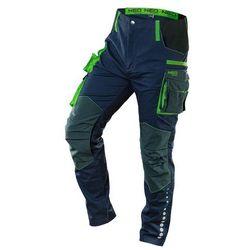 Spodnie robocze PREMIUM 62% bawełna 35% poliester 3% elastan S 81-226-S