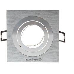 Oczko halogenowe, oprawa sufitowa punktowa SEIDY CT-DTL50-AL 12V 1x50W MR16 Gx5,3 IP20 18281 KANLUX