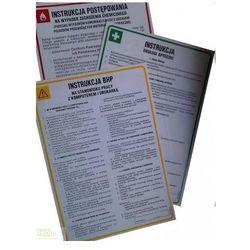 Instrukcja BHP dla pracowników zatrudnionych w magazynie ogólnego przeznaczenia Art. H01