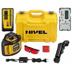 Laser obrotowy niwelator NIVEL NL500 DIGITAL ZASIEG 500M Z AKCESORIAMI + Czujnik RD700 Digital