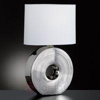 Lampy stołowe, Honsel Eye Lampa stołowa Srebrny, 1-punktowy - Klasyczny - Obszar wewnętrzny - Eye - Czas dostawy: od 2-4 dni roboczych