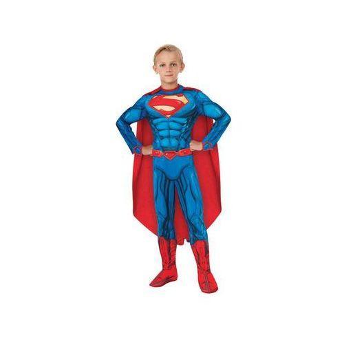 Kostiumy dla dzieci, Kostium Superman z mięśniami dla chłopca - Roz. L