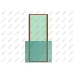 Przeszklenie balkonu/ balkon francuski AISI304, 14