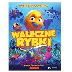 Waleczne rybki (książeczka + DVD)