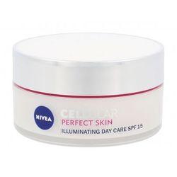 Nivea Cellular Perfect Skin Illuminating Day Cream SPF15 krem do twarzy na dzień 50 ml dla kobiet