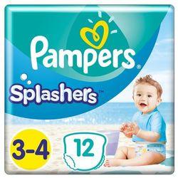 Pampers pieluchomajtki Splashers S3 12szt- Zamów do 16:00, wysyłka kurierem tego samego dnia!