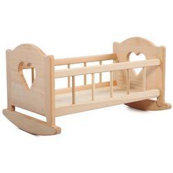 LUPO DREWNIANA KOŁYSKA DLA LALEK XL (8210) Polski producent zabawek dla dzieci.
