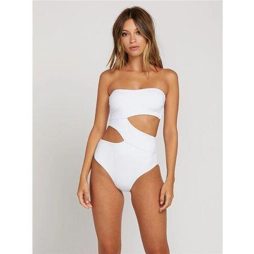 Stroje kąpielowe, strój kąpielowy VOLCOM - Simply Seamless 1Pc White (WHT) rozmiar: S