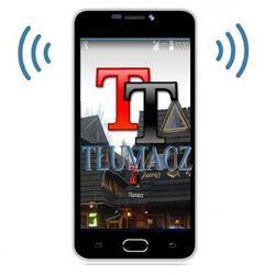 Profesjonalny Tłumacz Mowy (105-języczny!!) + Słownik + Smartfon + Aplik. Podróżnicze + Internet...