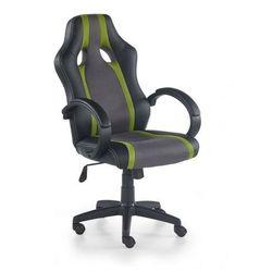 Fotel RADIX popielaty/zielony