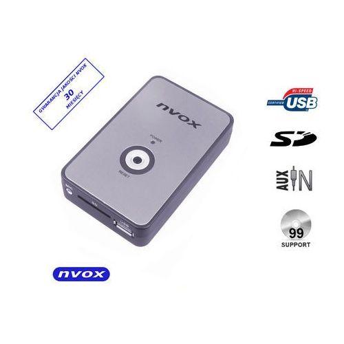 Zmieniarki samochodowe, NVOX NV1080A BMW 12PIN Zmieniarka cyfrowa emulator MP3 USB SD BMW 12PIN