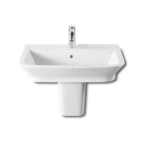 Umywalki, Umywalka 65x47 cm nablatowa/ścienna biała Roca Gap A327473000