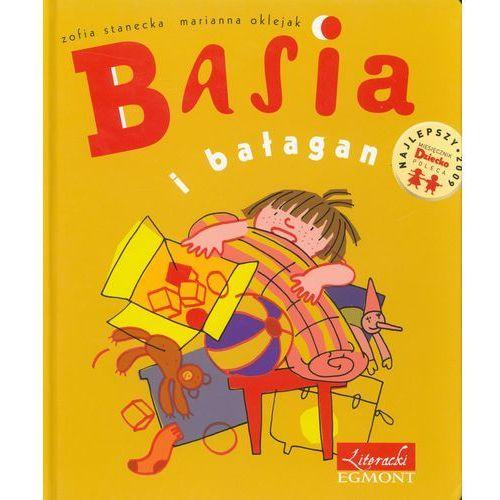 Książki dla dzieci, Basia i bałagan (opr. twarda)