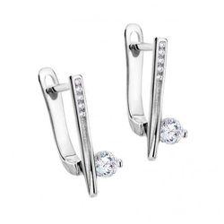 Biżuteria damska INFINITY FUKK0116 Kolczyki srebrne