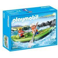 Klocki dla dzieci, Playmobil FAMILY FUN Spływ pontonem 6892