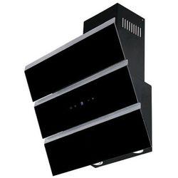 Okap przyścienny Toflesz OK-6 CASCADA, KOLOR: Czarny, Szerokość: 60 cm, Turbina: 700 m3/h SZYBKA WYSYŁKA / ZAPYTAJ O CENĘ