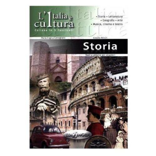 Książki do nauki języka, Italia e cultura Storia (opr. miękka)