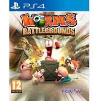 Gry na PS4, Worms Battlegrounds (PS4)