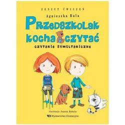 Przedszkolak kocha czytać Czytanie symultanicz.z.ćwiczeń (opr. broszurowa)