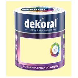 Farba Lateksowa Akrylit W Kolor Migdałowy 5l Dekoral