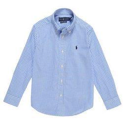 POLO RALPH LAUREN Koszula 'NATURAL STRCH POPLN' niebieski / biały