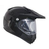 Kaski motocyklowe, OZONE MXT-01 PINLOCK READY BLACK Kask duale