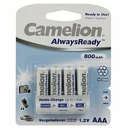 Camelion Akumulator Ni-MH AAA (R03), 800 mAh, 4-pack (17408403) Darmowy odbiór w 21 miastach!