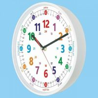 Zegary, Zegar biały do nauki odczytu czasu PL