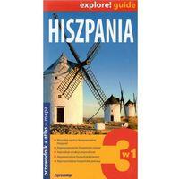 Przewodniki turystyczne, Explore!guide Hiszpania 3w1 Przewodnik Wyd. II (opr. broszurowa)