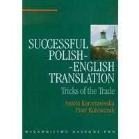 Językoznawstwo, Successful polish-english translation (opr. miękka)