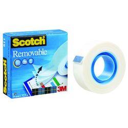 Taśma samoprzylepna, do repozycjonowania SCOTCH® Removable (811), matowa, 19mm, 32,9m