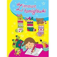 Książki dla dzieci, ZIMOWE ŁAMIGŁÓWKI (opr. miękka)