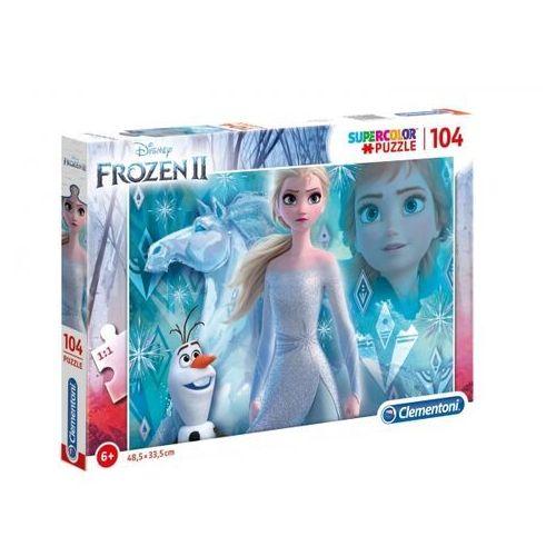 Puzzle, Puzzle 104 Super kolor Frozen 2