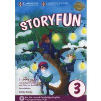 Książki do nauki języka, Storyfun 3 Student's Book + online activities (opr. miękka)