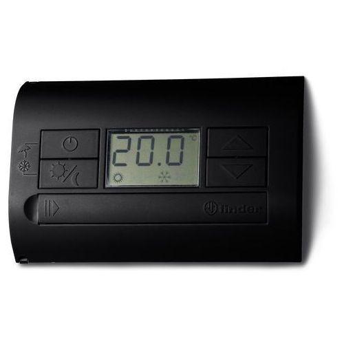 Pozostałe ogrzewanie, Termostat elektroniczny czarny, wyświetlacz LCD dzień/noc, lato/zima 1P 5A 230V 1T.31.9.003.2000