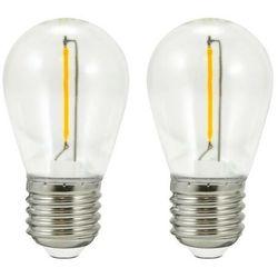 Żarówka LED Polux Party E27 2 x 80 lm 36 V 2 szt.