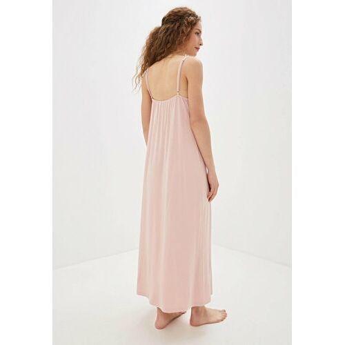 Koszule nocne, Bambusowa koszula nocna damska VERONA Różowy S