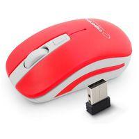 Myszy komputerowe, Mysz bezprzewodowa Esperanza Uranus 2.4GHz 4D czerwono-biała