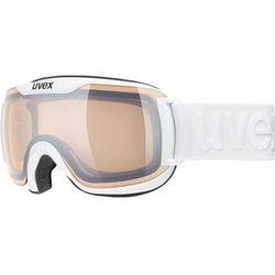 UVEX Downhill 2000 S V Gogle, white/variomatic silver 2019 Gogle narciarskie