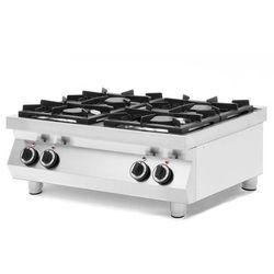 Kuchnia gazowa 4-palnikowa Kitchen Line stołowa   2x 6 kW + 2x 3,5 kW   800x700x(H)310 mm
