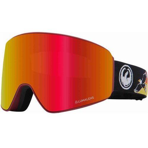 Kaski i gogle, gogle snowboardowe DRAGON - Dr Pxv Bonus Eagle Llredion+Llamber (400) rozmiar: OS