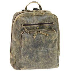 Daag Jazzy Risk 145 skórzany plecak - brązowy