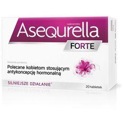 Asequrella Forte, 20 tabletek - Długi termin ważności! DARMOWA DOSTAWA od 39,99zł do 2kg!