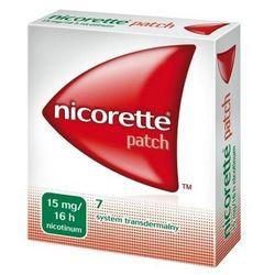 Nicorette semi plastry 15mg/16h x 7szt. - data ważności 31-08-2020